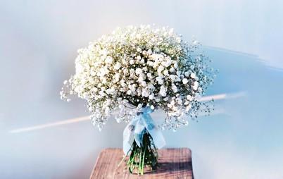 دسته گل ژيپسوفيلا