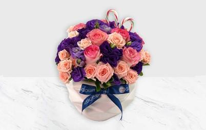 خرید گلدان سرامیکی گل رز