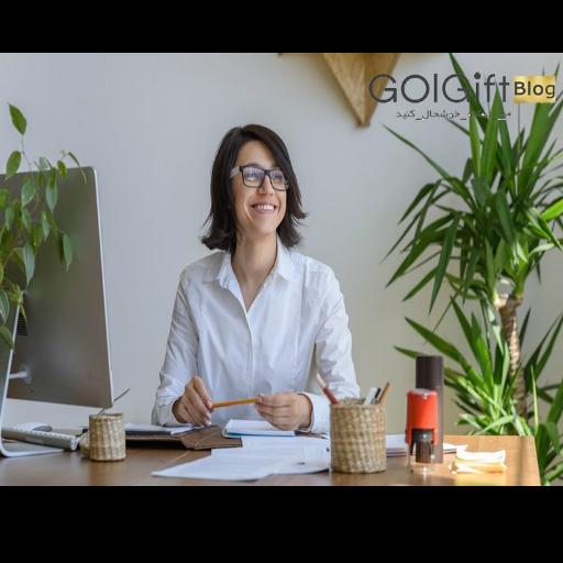 تاثیر گل و گیاه در محیط کار