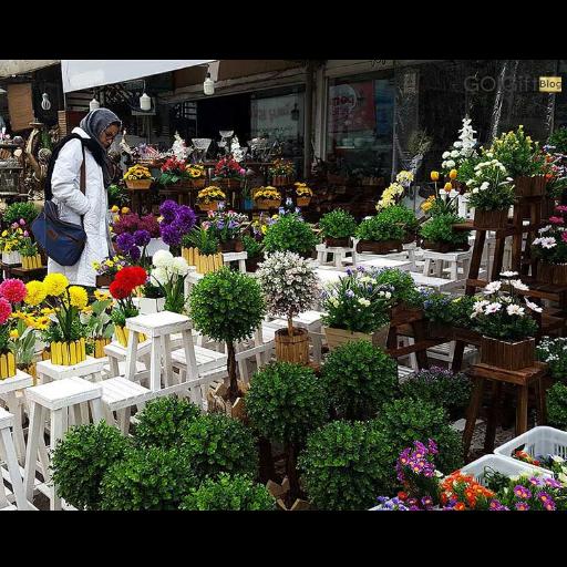 تنوع محصولات بازار محلاتی