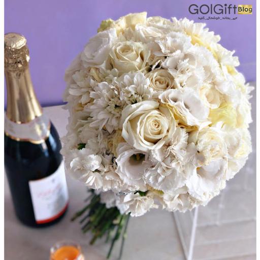 سفارش دسته گل ارزان عروس