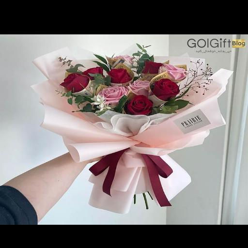 نحوه خرید گل خواستگاری ارزان قیمت