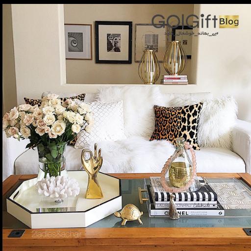 طراحی فضای داخلی خانه با گلهای طبیعی