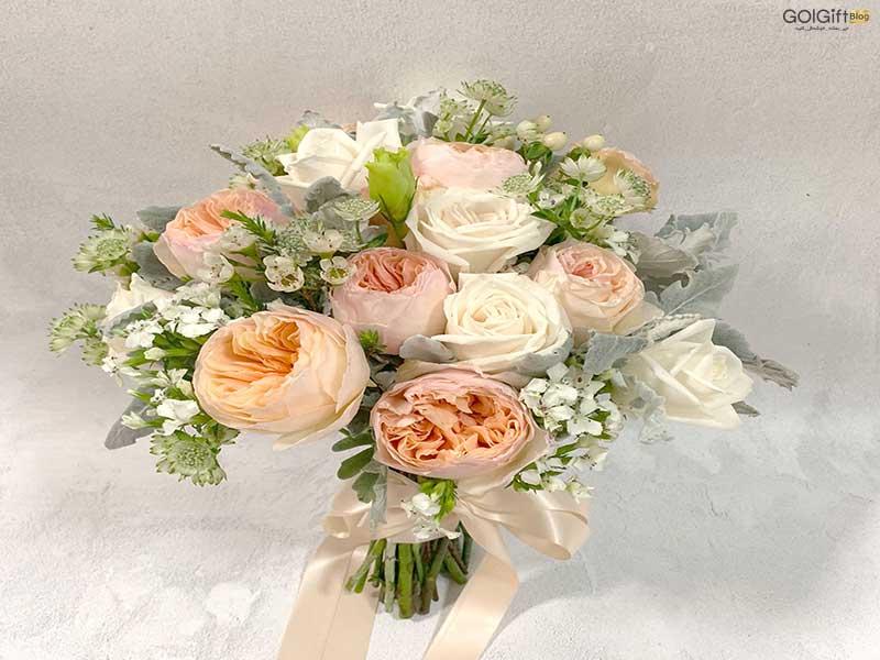 گل گیفت | دسته گل عروس 2021