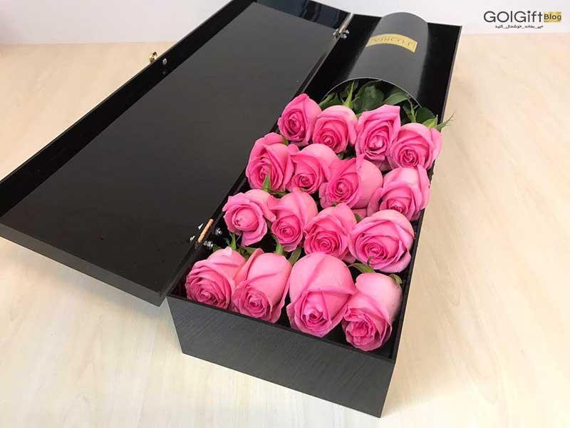 گل گیفت   راهنمای نگهداری باکس گل