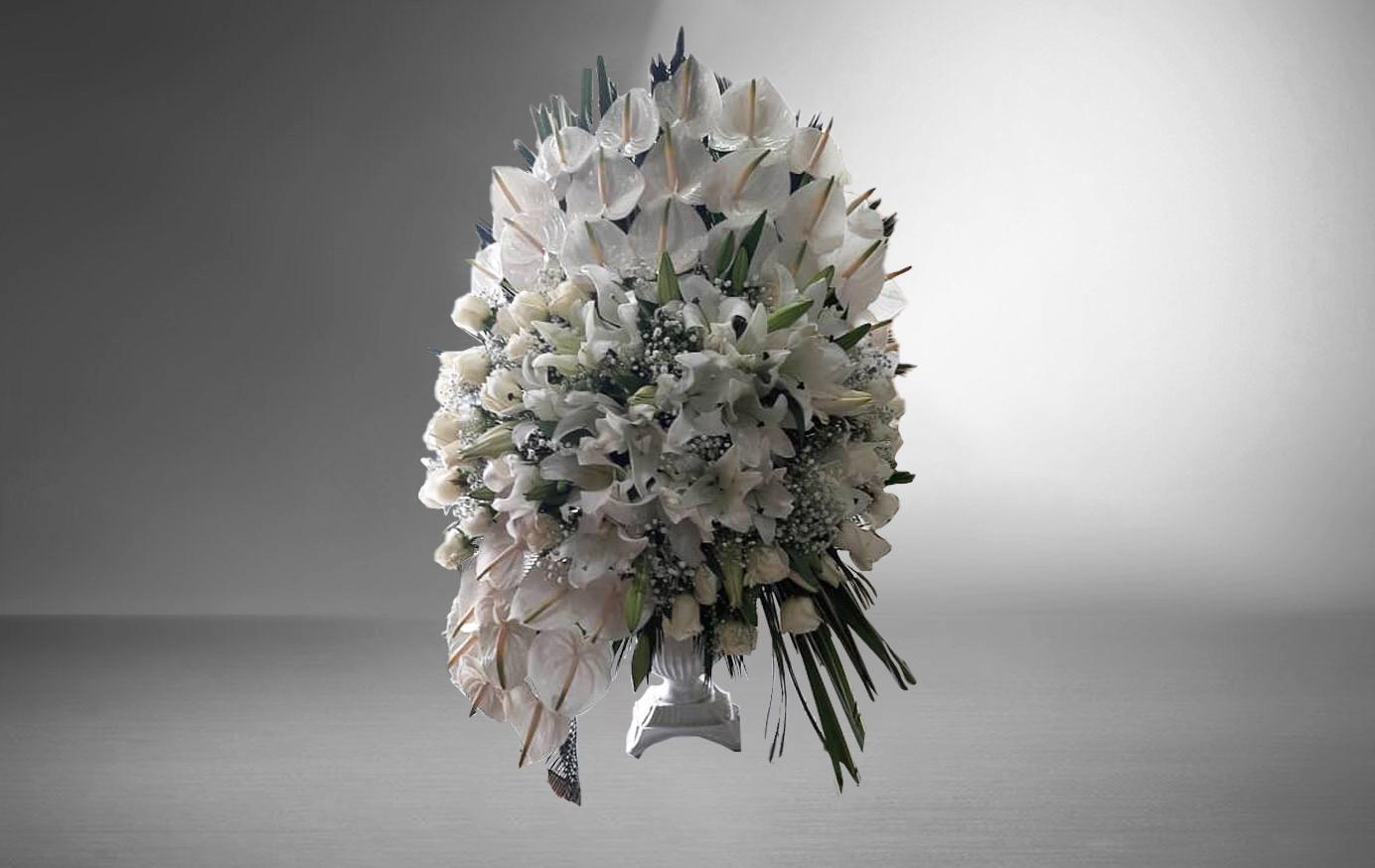 تاج گل رومیزی