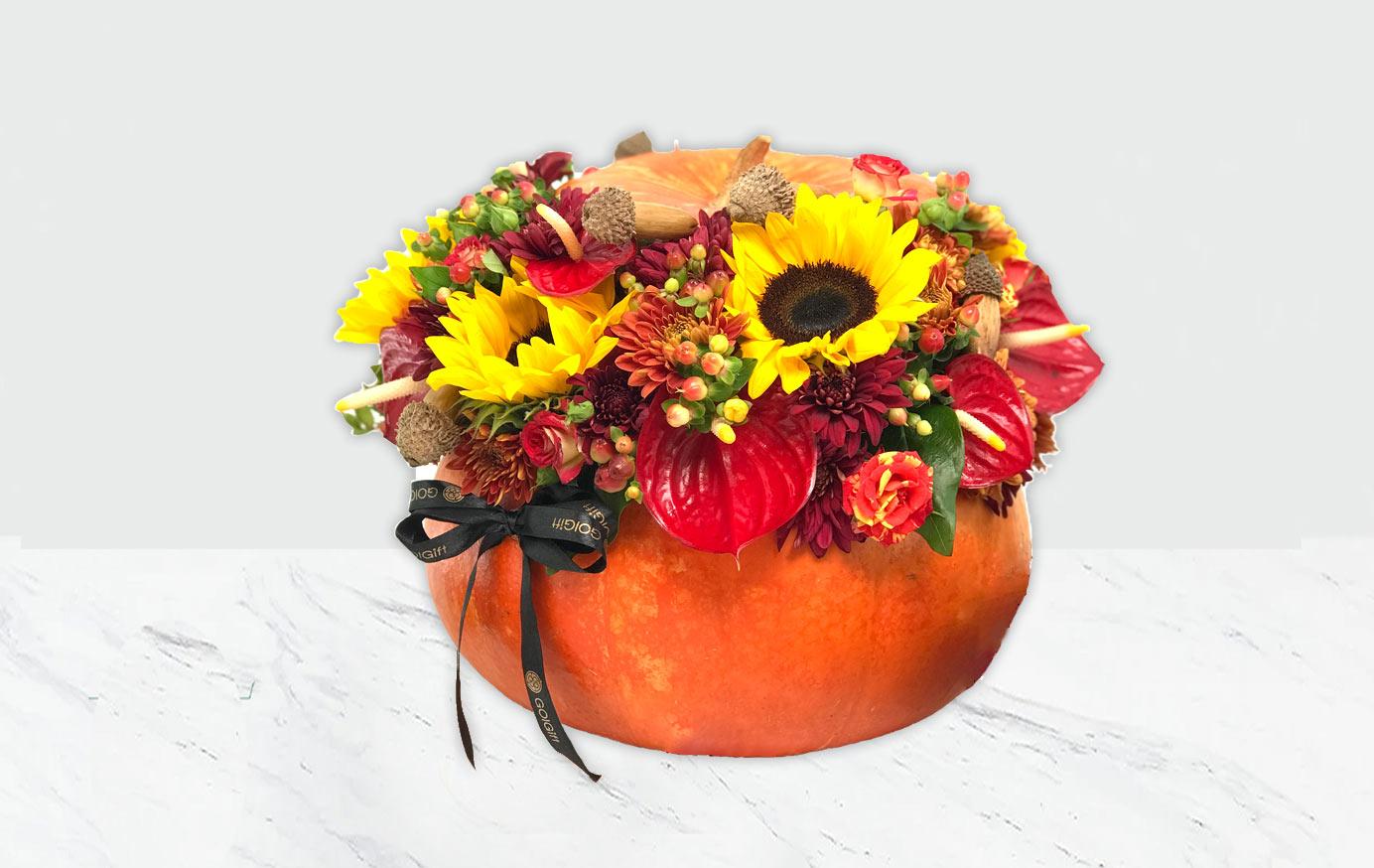باکس گل هالووین