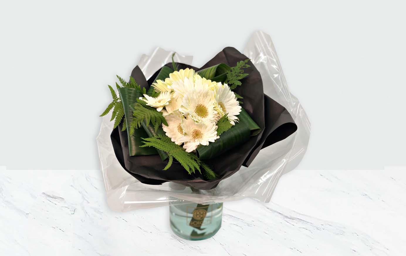 خرید دسته گل ژربرا
