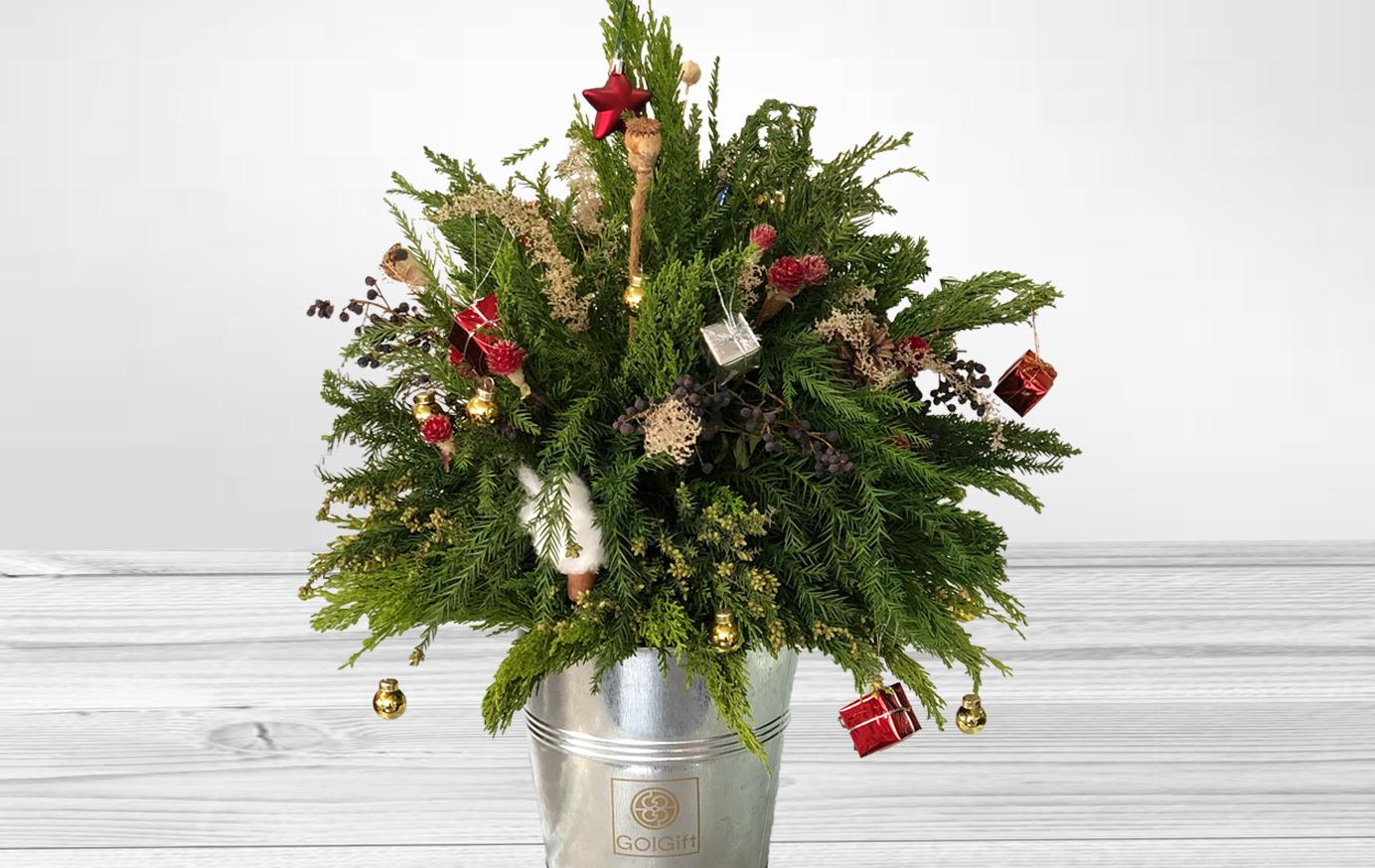 درخت و کادوی کریسمس