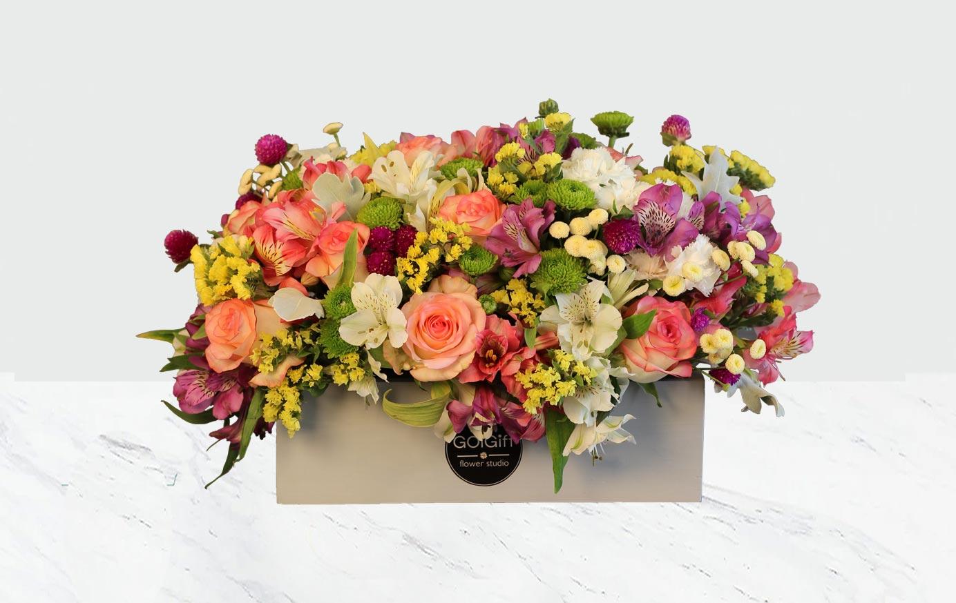 باکس گل جادویی
