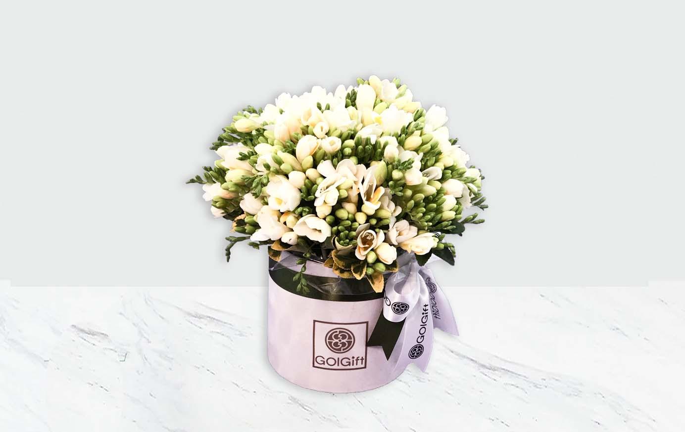 باکس گل با احساس