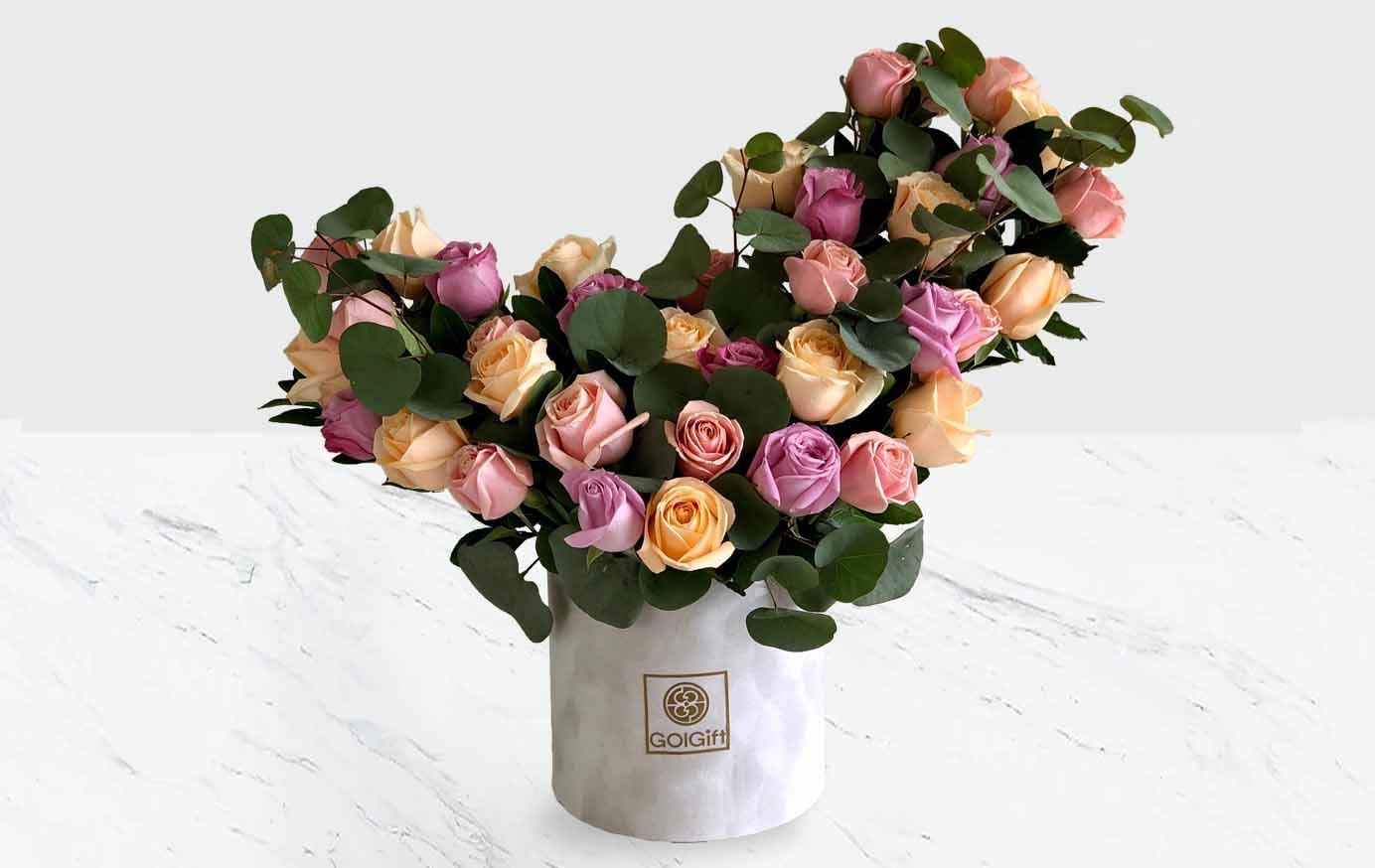 خرید باکس گل پروانه ای