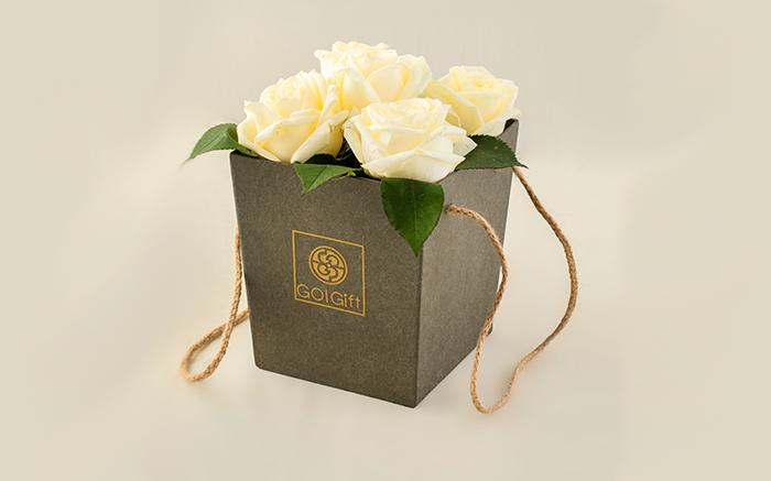 قیمت جعبه گل رز