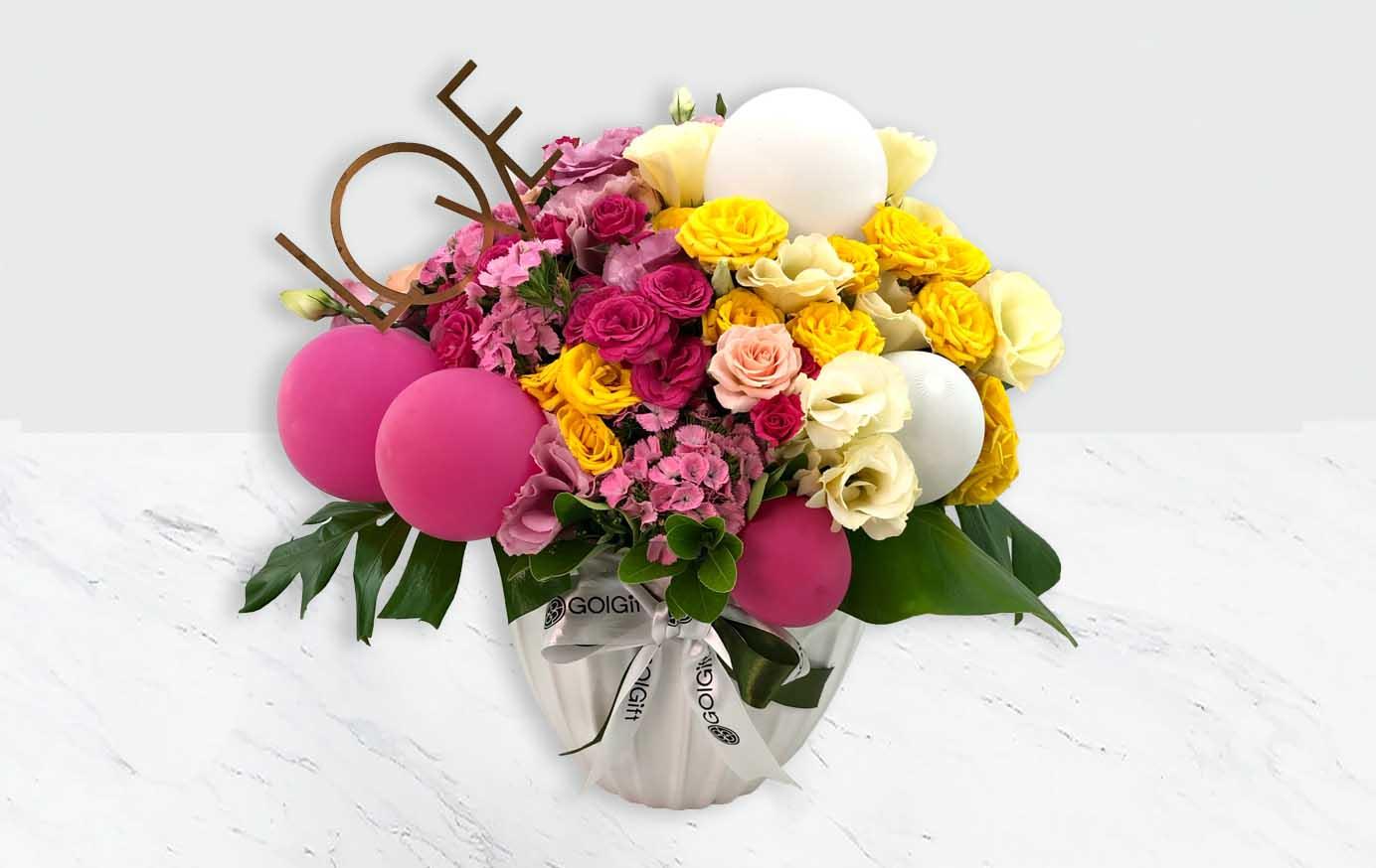 خرید گلدان رز مینیاتوری جذاب
