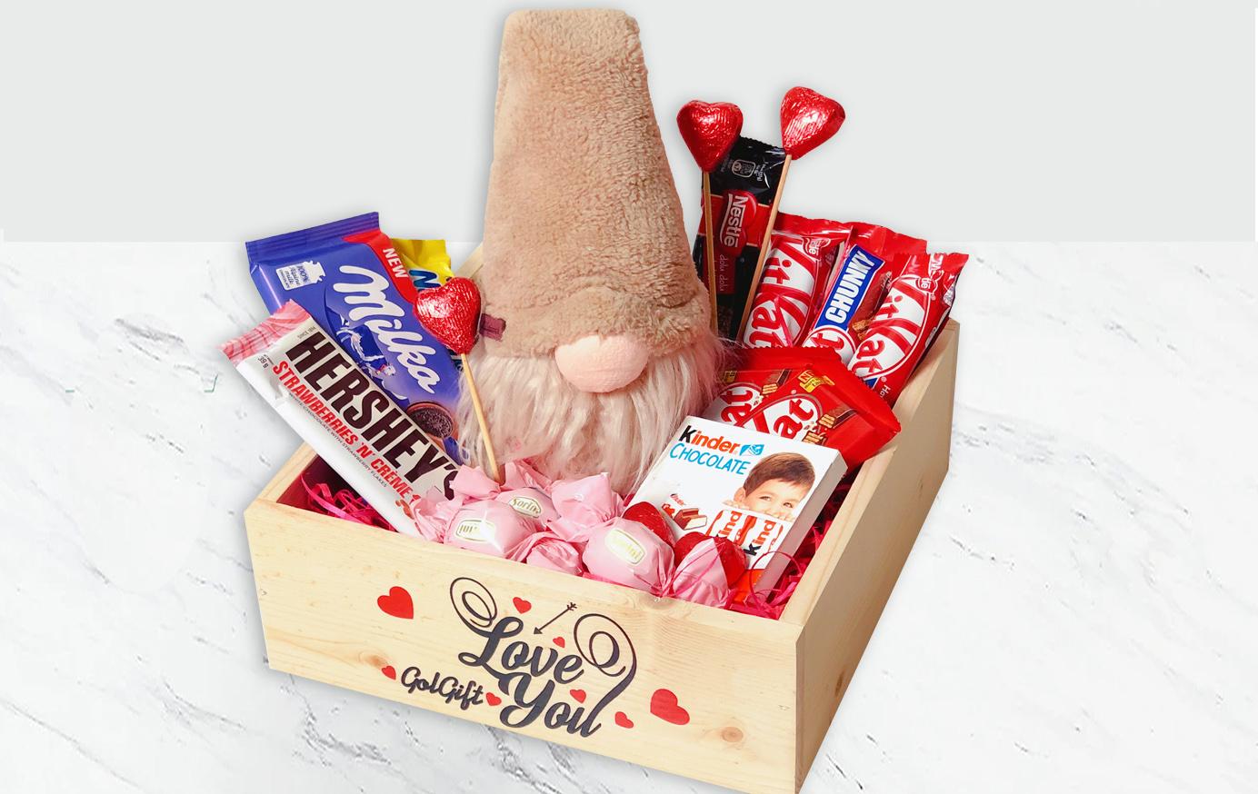باکس شکلات و عروسک
