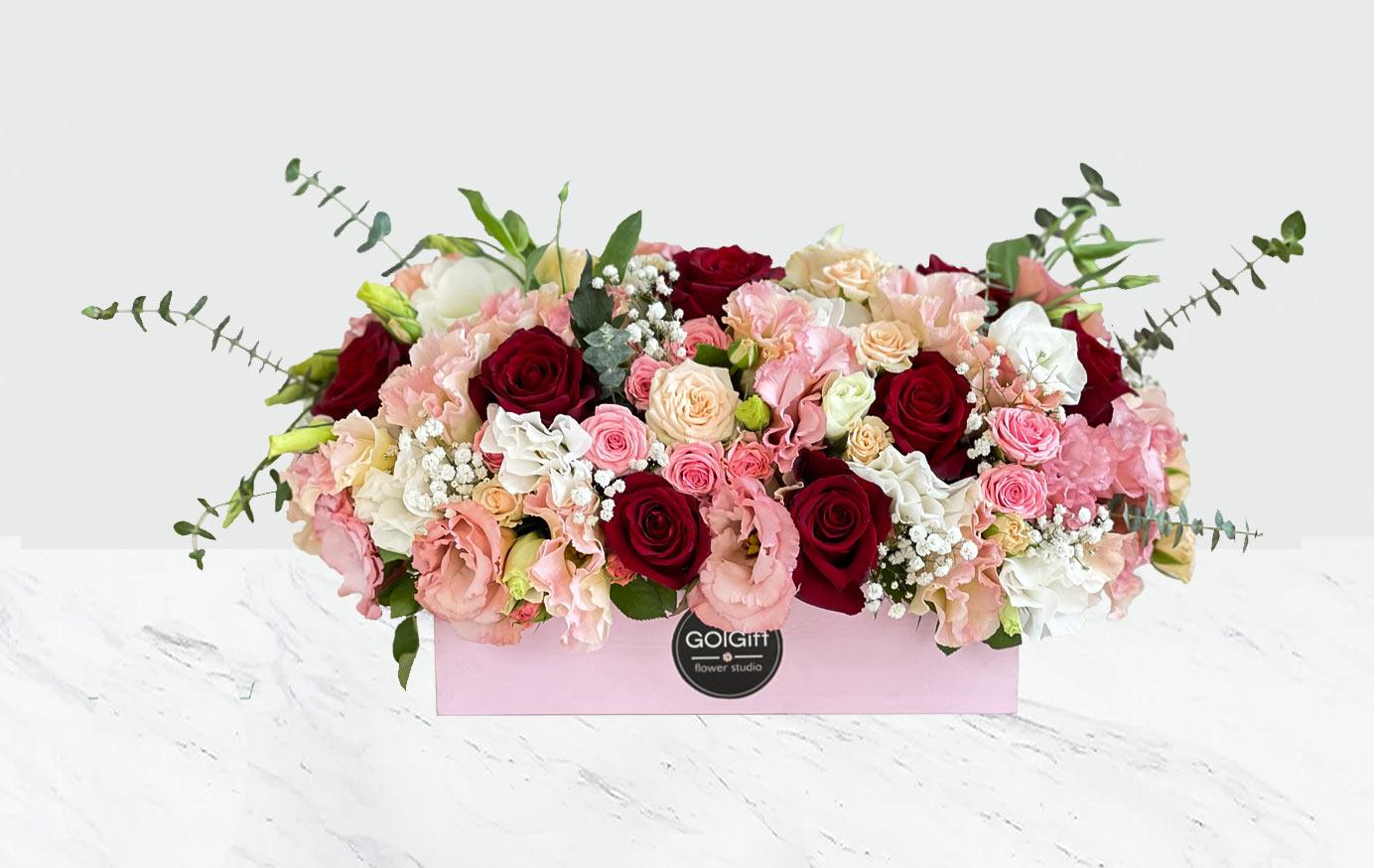 باکس گل دلبر